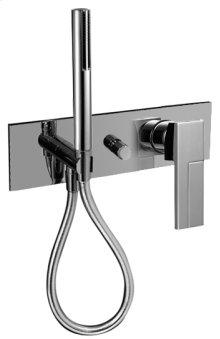 Built-in shower mixer