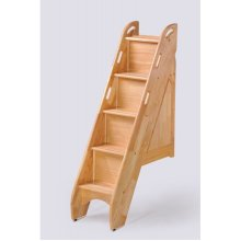 Spice Bunk Stairs: Natural