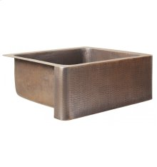 Petit Lucca Antique Copper Kitchen Sink