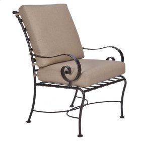 Club Dining Arm Chair