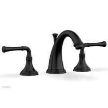 BEADED Widespread Faucet Lever Handles 207-01 - Gloss Black