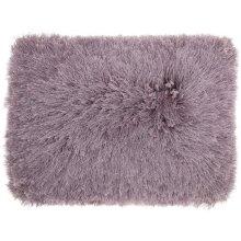 """Shag Tl004 Lavender 14"""" X 20"""" Throw Pillows"""