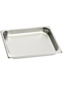 Stainless steel cooking insert