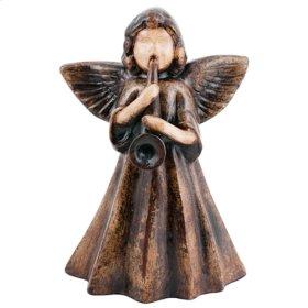 Natural Brown Angel w/ Trumpet