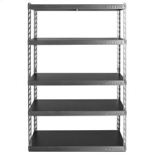 "48"" Wide EZ Connect Rack with Five 18"" Deep Shelves"