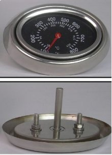 Lid Thermometer (requires 3 holes to be drilled on older model grills)