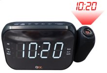 Am/fm LED Dual Projection Alarm Clock