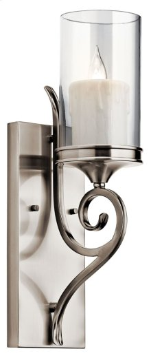 Lara 1 Light Wall Sconce Classic Pewter
