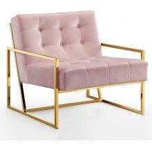 """Pierre Velvet Accent Chair - 32"""" W x 28"""" D x 27.5"""" H"""