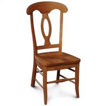 Carlo Side Chair, Fabric Cushion Seat