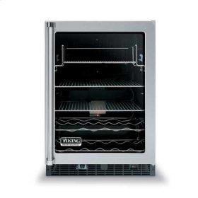 """24"""" Glass Door Beverage Centers - VUAR (Clear glass door)"""