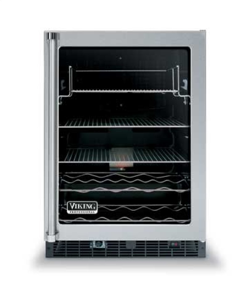 Vuar140f In By Viking In Pound Ridge Ny 24 Glass Door Beverage