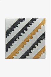 "RedBank Decorative Field Tile Sawtooth 6"" x 6"" STYLE: RNFD15"