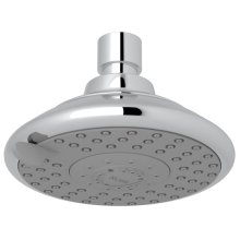 "Polished Chrome 5"" Ecoclassic 4-Function Showerhead"
