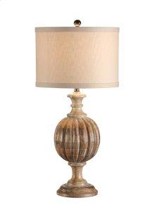 Ribs of Wood Lamp