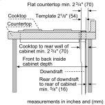 Downdraft Ventilation 30'' Stainless Steel Ucvm30xs