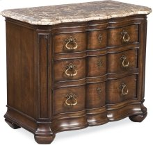 Lucca Night Stand (Marble Top)