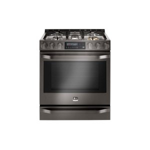 LG AppliancesSTUDIOLG STUDIO 6.3 Gas Single Oven Slide-In-range with ProBake Convection(R)