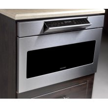 Hidden Control Panel Microwave Drawer