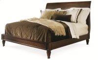 Knightsbridge Platform Bed Queen Size 5/0 Product Image