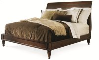 Knightsbridge Platform Bed Queen Size 5/0 Product Image