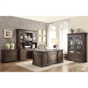 RiversideBelmeade - Executive Desk - Old World Oak Finish