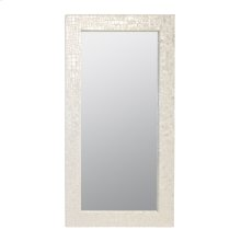 Croc Pattern Floor Mirror