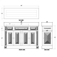 Roosevelt Paneled Sideboard