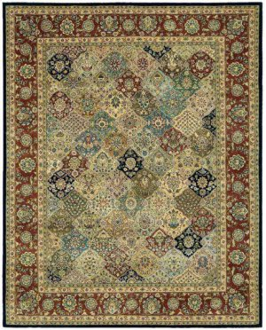 Nourison 2000 2101 Mtc Rectangle Rug 2' X 3'