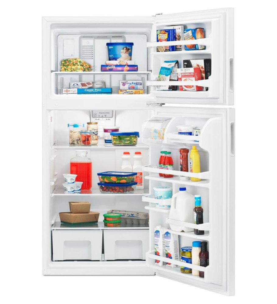 ART318FFDBAMANA 30-inch Wide Top-Freezer Refrigerator with Glass ...