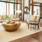 Wilson Lounge Chair-Beige Leather Product Image