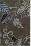Contour Con13 Grey Rectangle Rug 5' X 7'6''