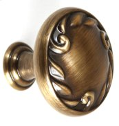 Ornate Knob A3650-14 - Antique English