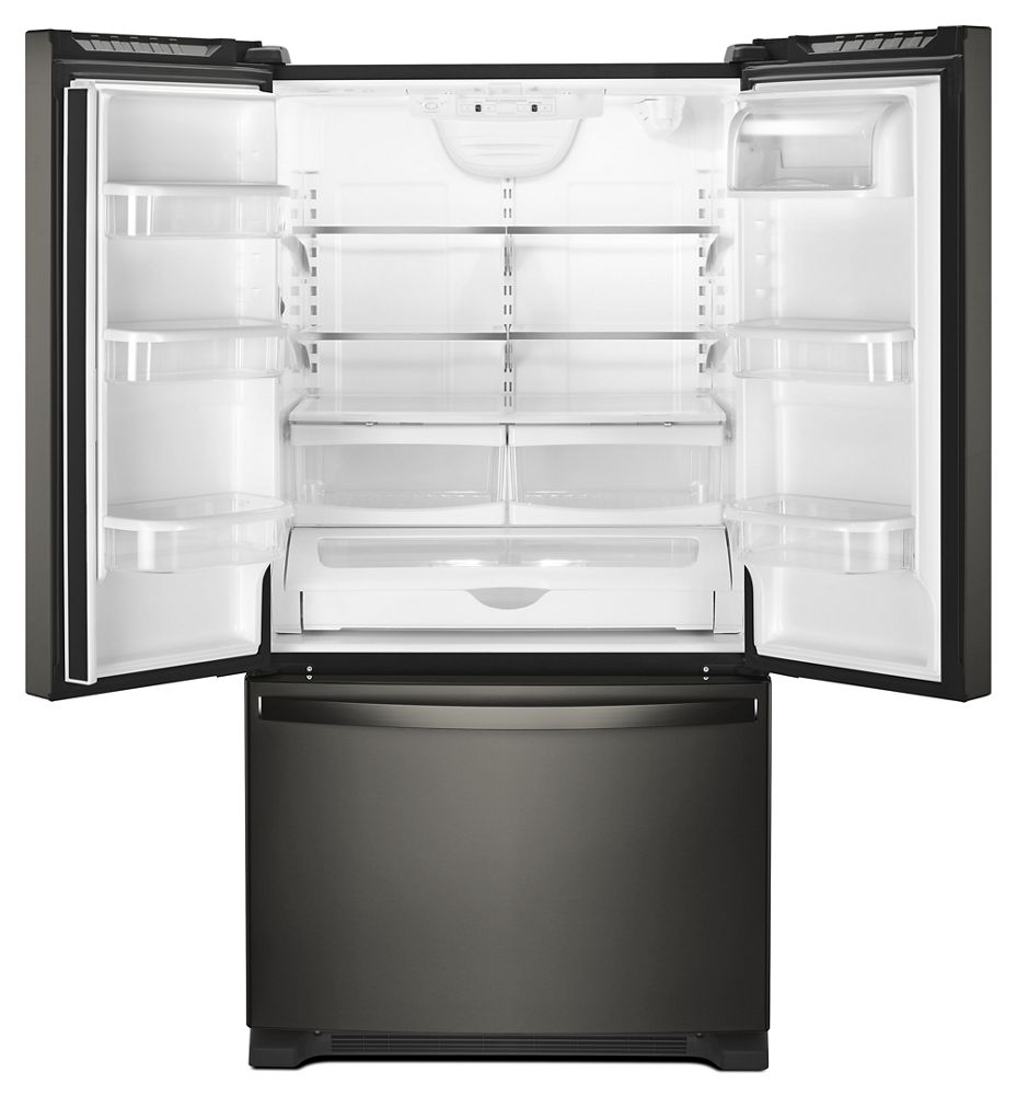 33 inch wide french door refrigerator. WHIRLPOOL 33-Inch Wide French Door Refrigerator - 22 Cu. Ft. 33 Inch
