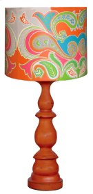 Balluster Lamp Base w/ Shade Product Image