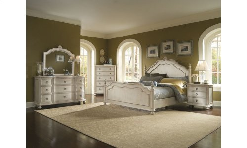 Provenance Five Drawer Chest with Bun Foot - Linen