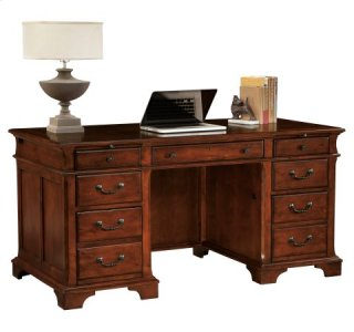 Weathered Cherry Junior Executive Desk