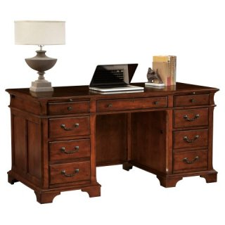 Weathered Cherry Junior Executive Desk