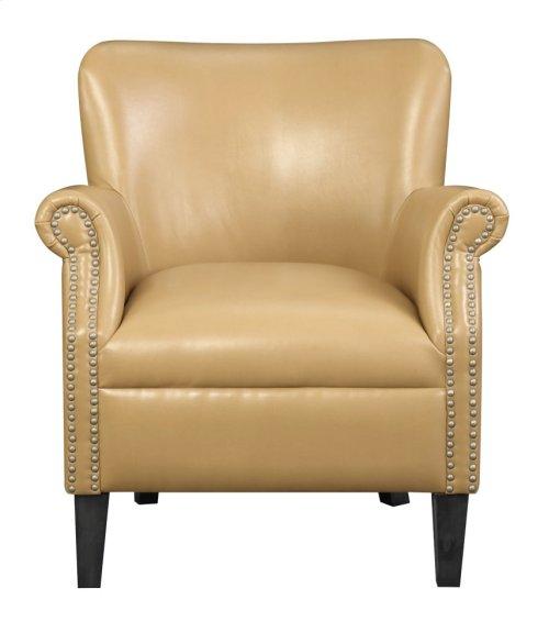 Emerald Home Oscar Accent Chair-saddle U3218-05-05
