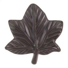 Vineyard Leaf Knob 2 Inch - Aged Bronze