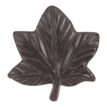 Vineyard Leaf Knob 2 Inch - Aged Bronze