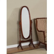 """Heirloom Cherry"" Cheval Mirror (G)"