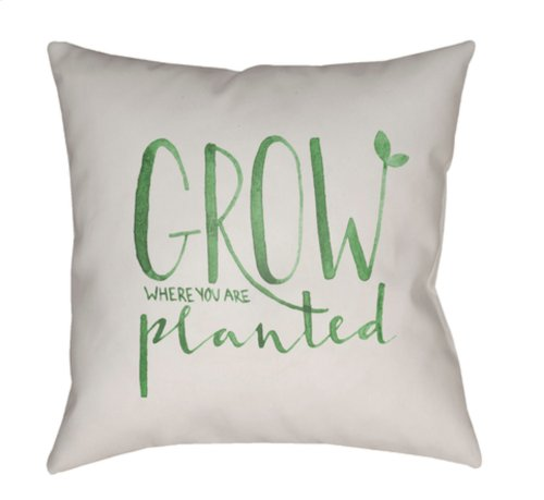 "Grow QTE-010 20"" x 20"""