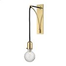 Marlow Wall Sconce - Aged Brass Product Image
