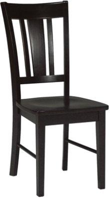 San Remo Chair Black