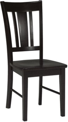 San Remo Chair Black