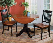 3 PIECE SET (TABLE AND 2 CHAIRS)