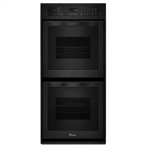 6.2 Cu. Ft. Double Wall Oven with High-Heat Self-Cleaning System - BLACK