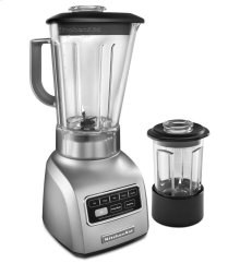 5-Speed Blender with Die Cast Base and 56-oz. BPA-Free Pitcher and 24-oz. BPA-Free Culinary Jar - Empire Red