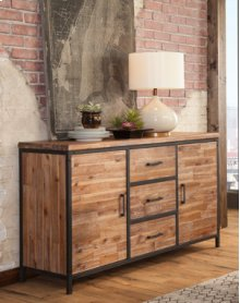 Rustic Buffet Sierra Brown